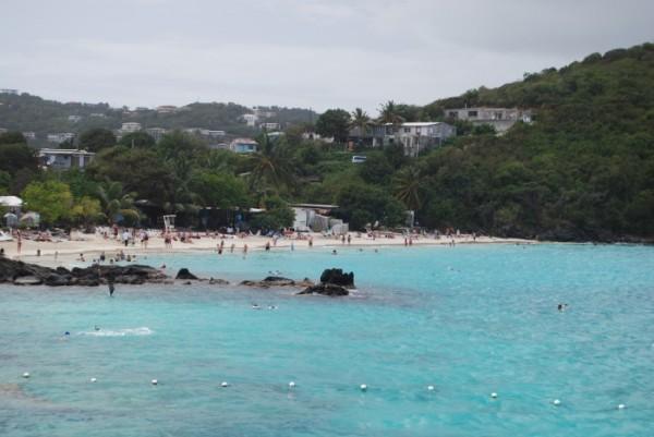 Coki Beach St. Thomas