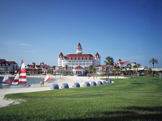 Beach at Disney's Grand Floridian