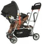 Joovy Ultralight Caboose with car seat