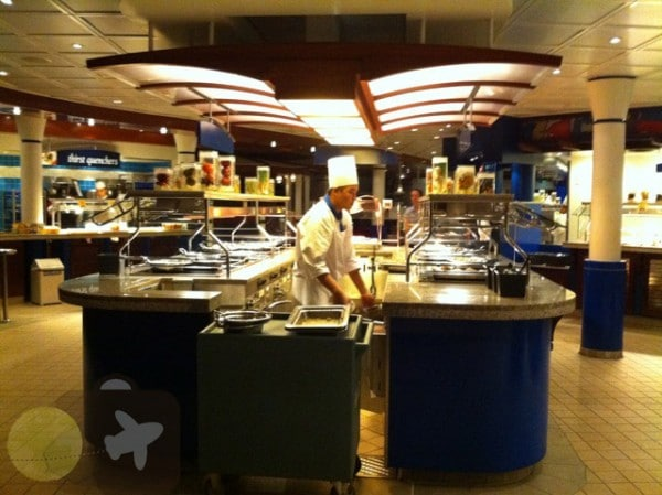 The Windjammer buffet - Freedom of The Seas