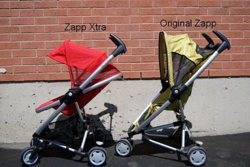 Quinny-Zapp Xtra Hood Comparison