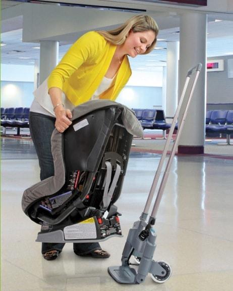 Brica Introduces Roll N Go Car Seat Transporter World