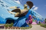 "Disney's Art of Animation Resort - ""Finding Nemo"" Wing Exterior"