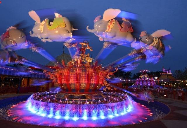 Walt Disney World Fantasyland - Dumbo the Flying elephant