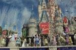 Walt Disney World Fantasyland - fireworks castle