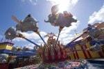 Walt Disney World Fantasyland - flying Dumbo ride