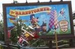 Walt Disney World Fantasyland - the barnstormer