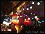 Lynns Paradise Cafe - window lights