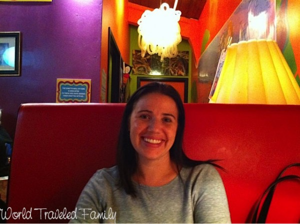 Me at Lynns Paradise Cafe!