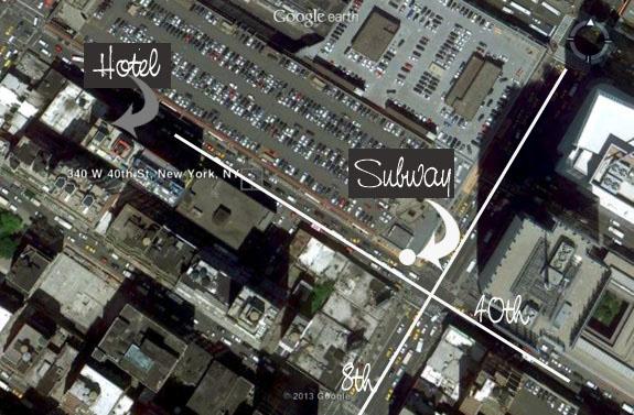 Staybridge Suites Times Square location