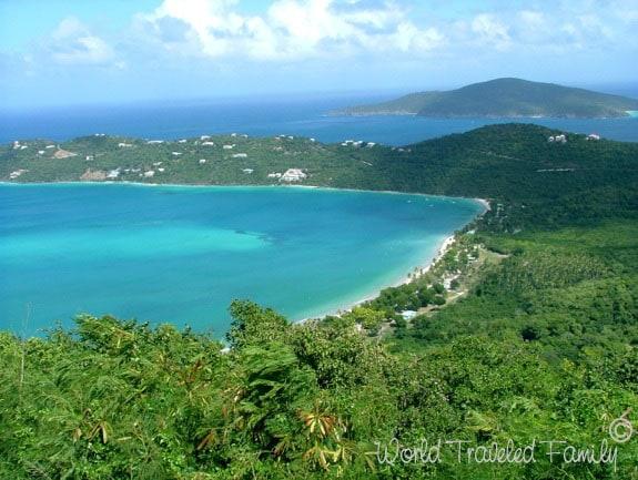 View of Magens Bay St. Thomas USVI