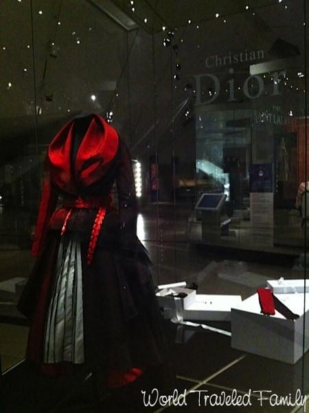 Royal Ontario Museum John Galliano's Passage # 5 gown
