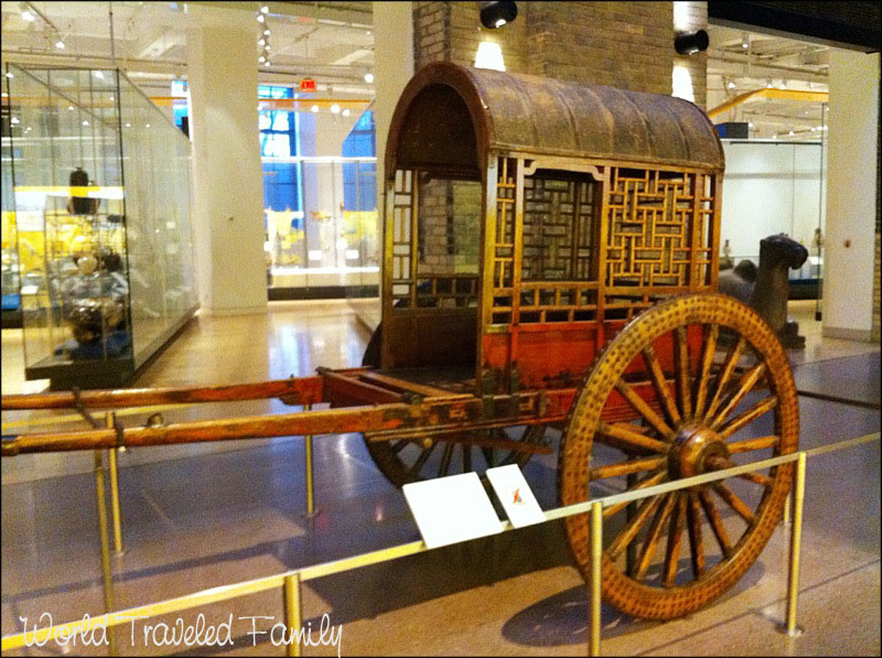 Royal Ontario Museum Qing Dynasy Carriage