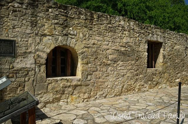 Long Barracks at the Alamo San Antonio