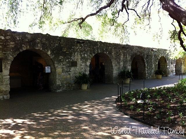 Long Barracks inside the Alamo San Antonio