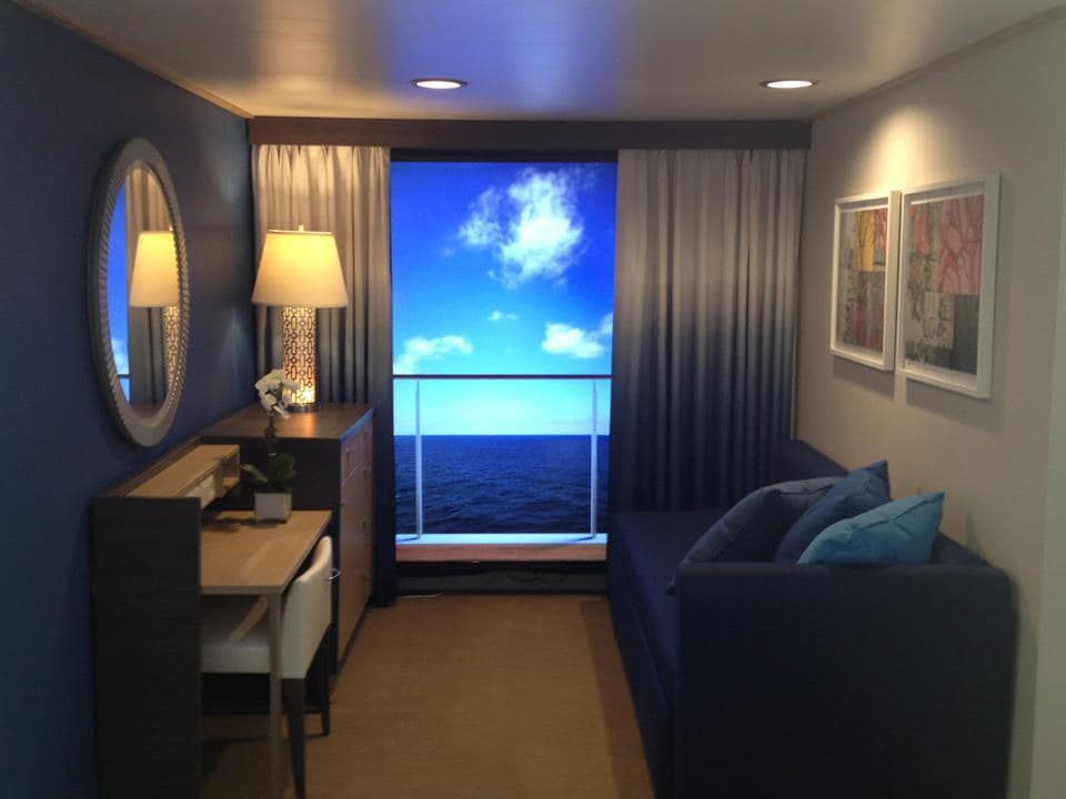 Royal caribbean debuts their quantum class ships world for Royal caribbean solo cabins