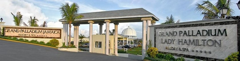 Grand Palladium Jamaica Resort & Spa - entrance