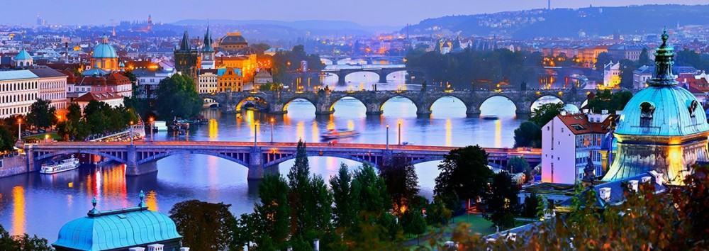 the Charles Bridge Prague