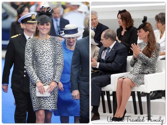 Catherine Middleton Duchess of Cambridge Christens the Royal Princess