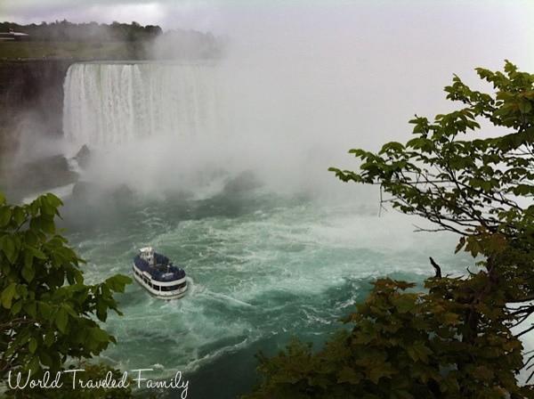 Maid of the mist Horseshoe Falls, Niagara Falls
