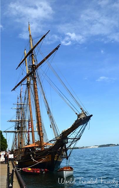Pride of Baltimore Tall Ship Tour