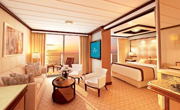 Royal Princess - owner's suite