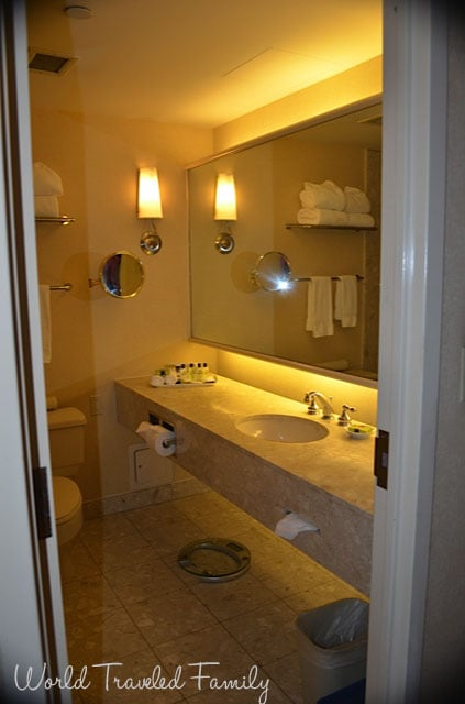 Intercontinental Toronto - bathroom
