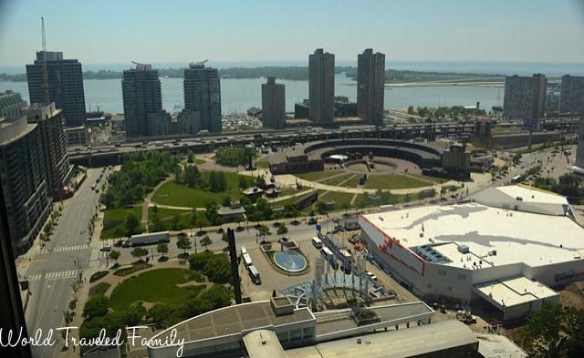 Intercontinental Toronto - view of city