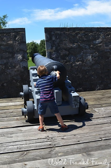 Old Fort Erie - canons ready for fire