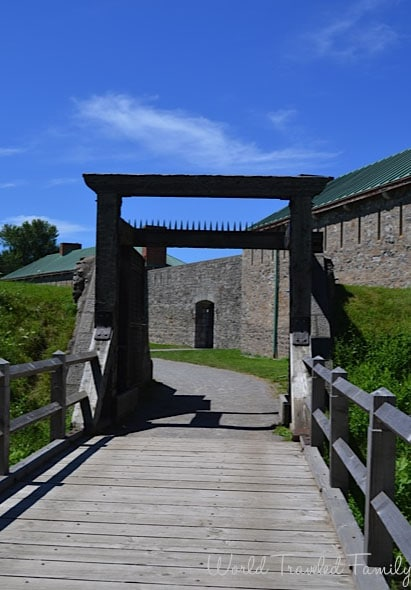 Old Fort Erie - main entrance