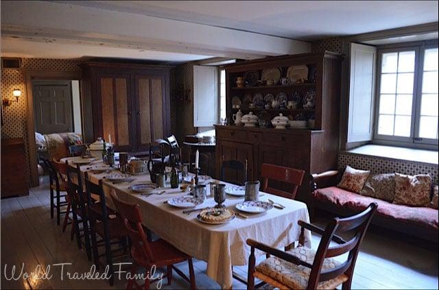 Dundurn Castle - Servants dining room