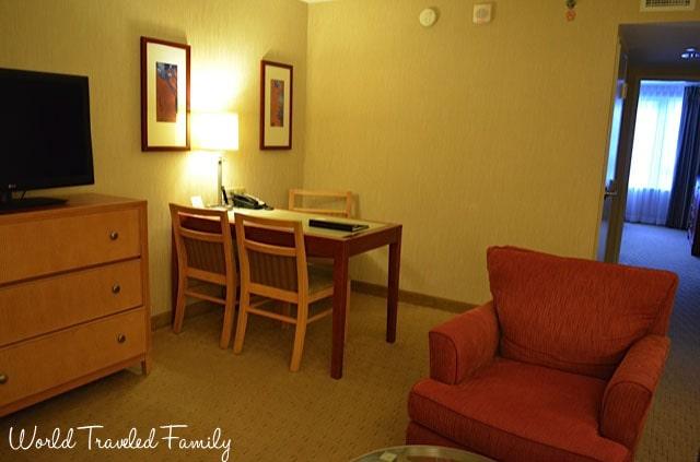 Embassy Suites Washington, DC - living room