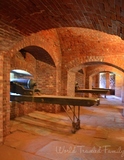 Old Fort Niagara - Casemate Gallery