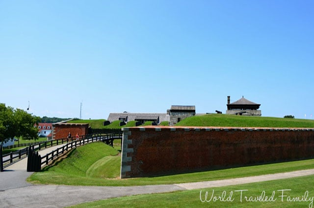 Old Fort Niagara - view from the outside
