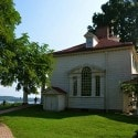 George Washington's Mount Vernon - dining room from the outside