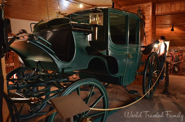 Thrasher Carriage Museum - Rosevelt Inaugeral Carriage