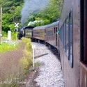 Western Maryland Scenic Railroad - driving throught the Alleghany Mountains