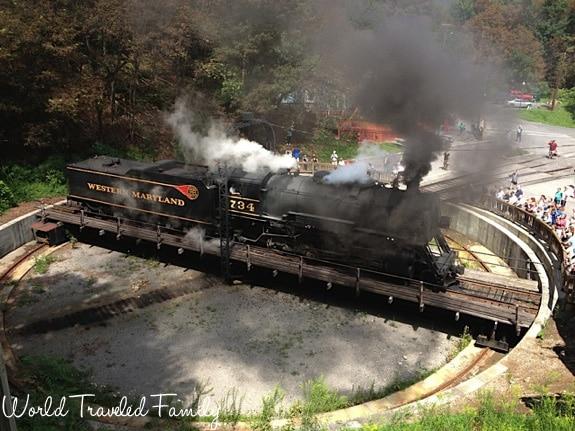 Western Maryland Scenic Railroad - turntable