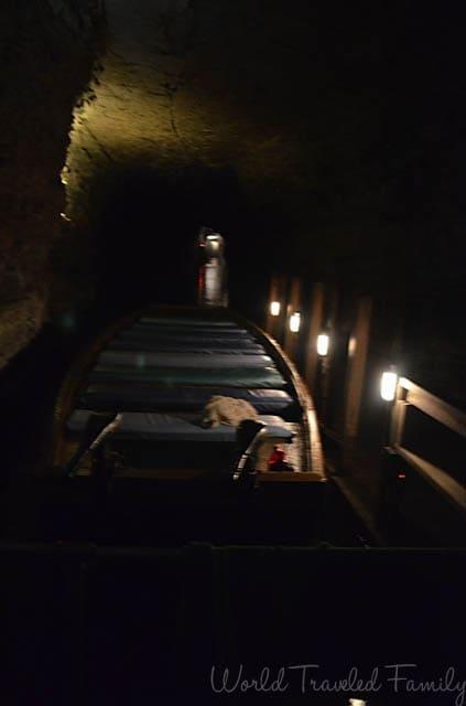 Lockport Caves - boat