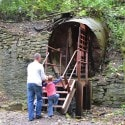 Lockport Caves - going in!