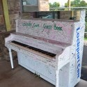 Lockport Caves - welcome piano