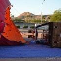 getting ready to go - Vegas Balloon Ride