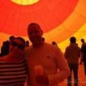 us inside the balloon Vegas Balloon Ride