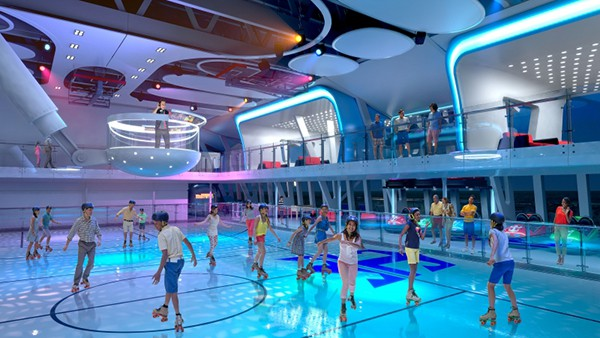 Anthem Of The Seas Seaplex Dancing World Traveled Family