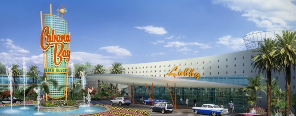 Loews Cabana Bay Hotel - front entrance