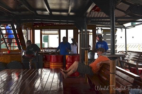 St. Thomas Kon Tiki Boat Tour - Steel Drum Band