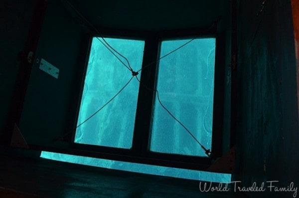 St. Thomas Kon Tiki Boat Tour - glass bottom ship wreck