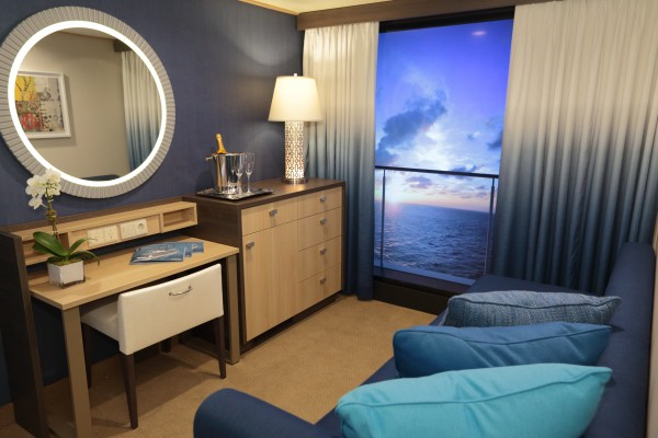 Virtual Balcony staterooms on Anthem of the seas