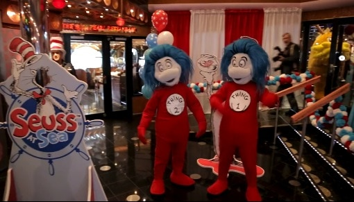 Carnival Cruise Lines Seuss at Sea