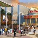 Hot Dog Hall of Fame at CityWalk - Rendering